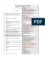 Research List 2013