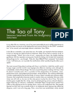 The Tao of Tony Lessons Learned From An Imaginary Friend
