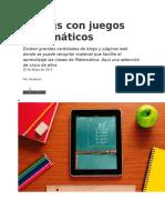 5 Blogs Con Juegos Matemáticos