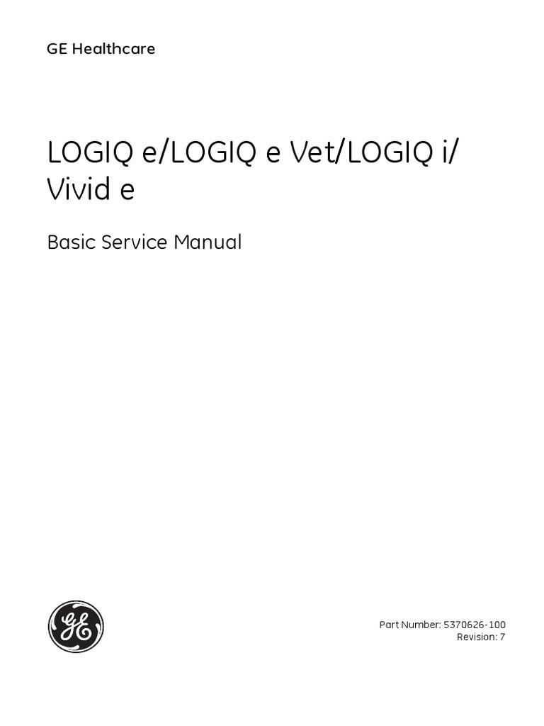 logiq e service manual electromagnetic compatibility