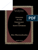 (Gorgias Studies in Early Christianity and Patristics 1) Aho Shemunkasho-Healing in the Theology of Saint Ephrem-Gorgias Press (2004)