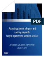 Assessing Payment Adequacy and Updating Payments