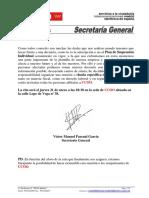 Carta Secretario Reunión PSI