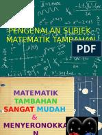 Pengenalan Add Math