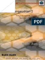 Pengauditan II - Bukti audit, sampling audit, diskusi tim audit