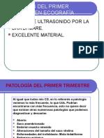 1.- Patología Del Primer Trimestre