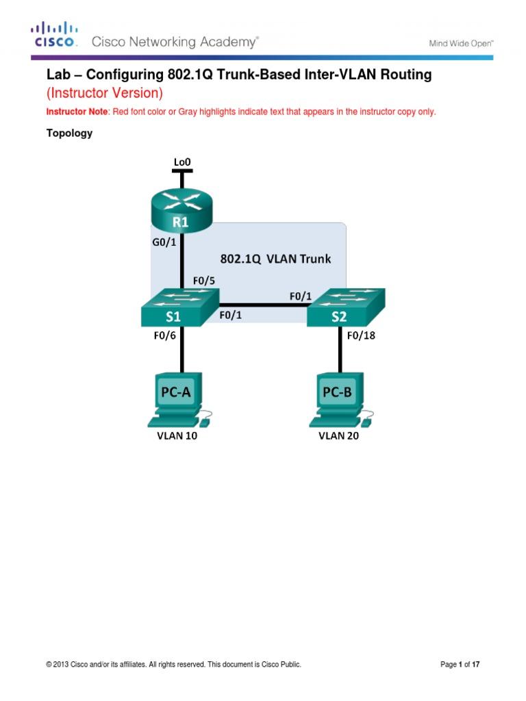 ccna 2 lab 5 1 2 4 teacher version network switch router rh es scribd com CCNA Practice Labs Cisco CCNA Lab