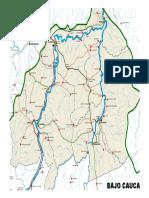 Mapa Subregiones Antioquia