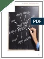 project report on social media marketing