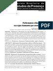 Performance e Documento