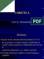 VARICELA- ZZOSTER