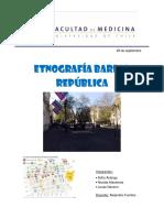 Etnografía Barrio República