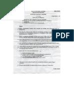 Question Paper 2012