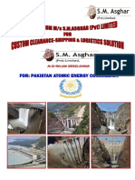 S.M.Asghar Brochure - For Atomic Energy Comission