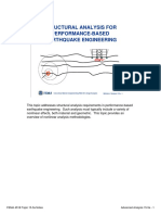 STRUCTURAL ANALYSIS FOR PERFORMANCE-BASED EARTHQUAKE ENGINEERING