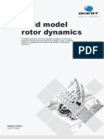 Solid Model Rotor Dynamics