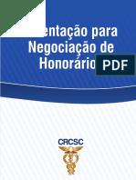 ORIENTAÇÕES PARA NEGOCIAÇÃO DE HONORARIOS CONTÁBEIS