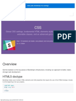 1-CSS · Bootstrap