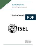 Relatório Trab 1 - Tel1