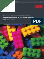 IVEN24_09 Folheto Redutores Industriais Para Extrusora