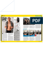 Men's Health Article by Nick Mitchell - How To Use Chains