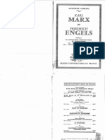 Auguste Cornu, Karl Marx et Friedrich Engels - Tome II