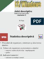 Spss 02 Statistici Descriptive 2014