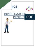 256735977 Physics Investigatory Project