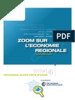 Zoom sur l'économie régionale en Paca (2014)