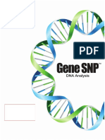 Gene SNP Sample Report