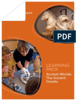 Leeds City Museum Ancient Worlds Learning Pack Greece