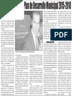 15-01-16 Inicia consulta del Plan de Desarrollo Municipal 2015-2018