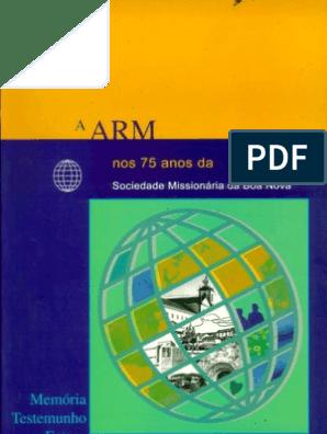 Livro ARM | Diocese | Igreja Católica