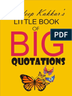 Sandeep Kakkar's Little Book of Big Quotations