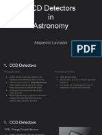 CCD Detectors in Astronomy