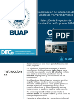 Presentación Proyecto de Incubacion 2016 PROYECTOS QUE AUN NO INICIAN SUS OPERACIONES (Lean Canvas).pptx