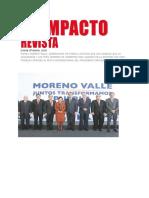 17-01-2016 Impacto Revista - Rafael Moreno Valle Entrega Su Quinto Informe de Gobierno