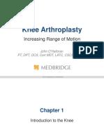 Artroplastia rodilla
