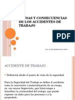 Causas y Consecuencias de Los Accidentes de Trabajo
