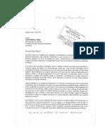 Carta Dr. David Barguil