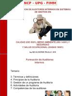 Formacion de Auditores.setiembre - 2015