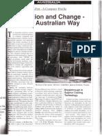 Inovation an Change - In the Australian Way