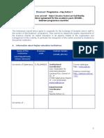 Modelo Acuerdo Erasmus