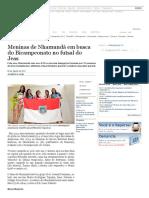 Meninas de Nhamundá Em Busca Do Bicampeonato No Futsal Do Jeas _ Craque _ Acritica