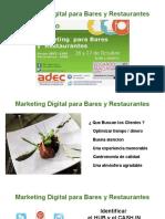 Marketing Para Bares y Restaurantes