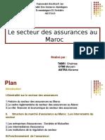 le secteur des assurance au maroc