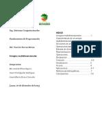 Caracteristicas de Un Arreglo (Array) Multidimensional