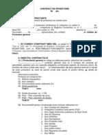 Contract de Proiectare