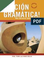 Accion Gramatica New Advanced Spanish Grammar