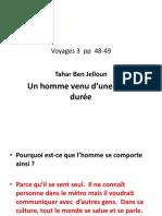Voyages 3 Pp 48-49 Un Homme Venu d'Une Autre Durée